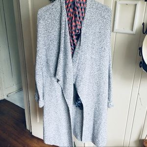 H&M basic Wrap Sweater- S Cotton Blend